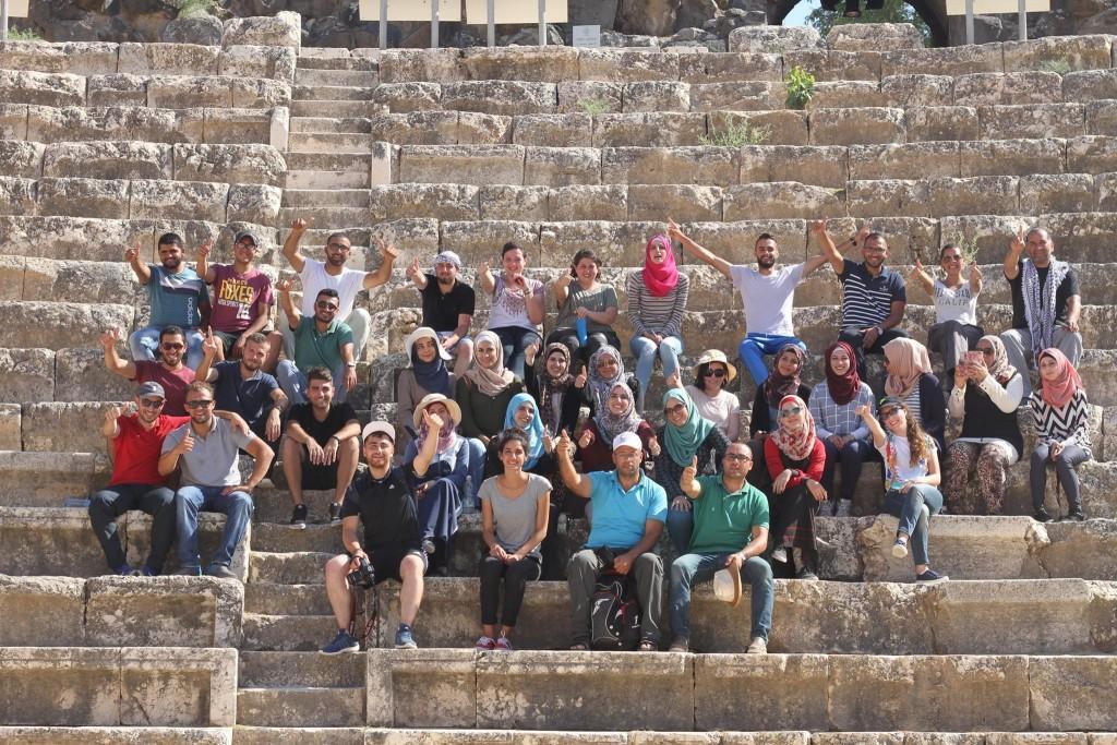 برج اللقلق تنظم جولة الجليل الأدنى وبيسان التاريخية  ضمن برنامج المرشد الشاب 2