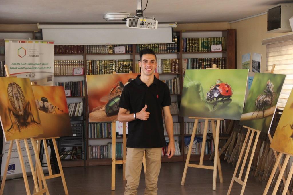 برج اللقلق تنظم معرض «عالم خفي» للمصور المقدسي مصطفى غروز