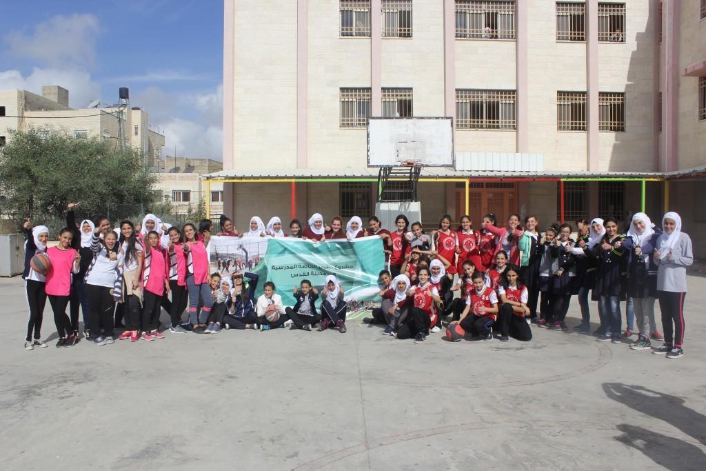 مدرسة راهبات الوردية بطل مديرية التربية لكأس الإناث في كرة السلة