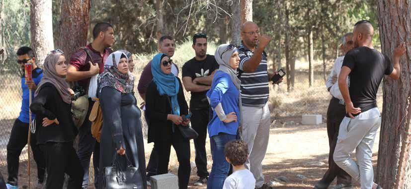 Qudwat Al-Quds Tour to Imwas & Al-Latrun Displaced Villages