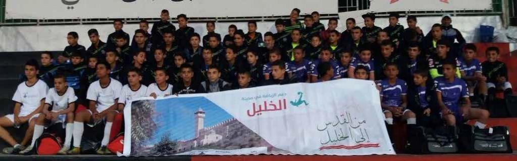 جمعية برج اللقلق تنظم بطولة عيد الاستقلال على ارض مدينة خليل الرحمن، وطارق بن زياد يفوز بالبطولة.