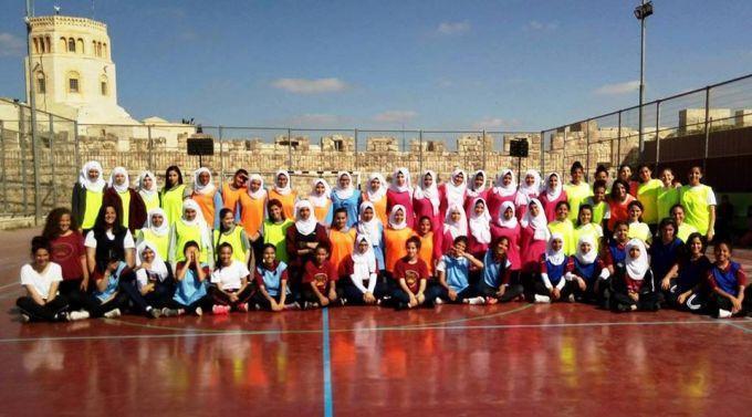 ضمن مشروع تطوير الرياضة المدرسية ستة مدارس مقدسية تشارك ببطولة كرة اليد