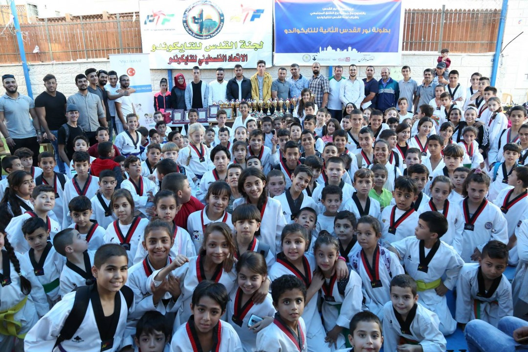 Nur Al-Quds Host the 2nd Edition of the Taekwondo Tournament