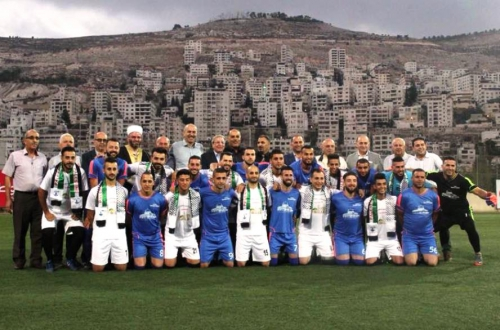 The Nabulsi Families Team Beats the Jerusalemite Families Team in Nusrat Al-Quds Tournament