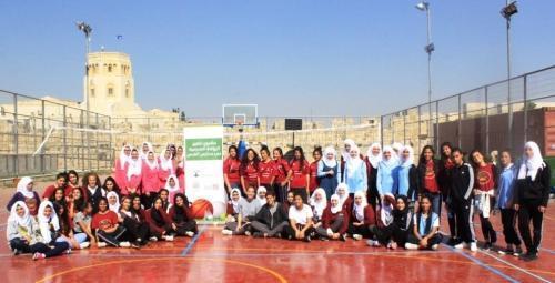 ضمن مشروع تطوير الرياضة المدرسية فريق مدرسة أبو بكر الصديق يحصد المركز الأول في بطولة كرة الطائرة لمدارس القدس