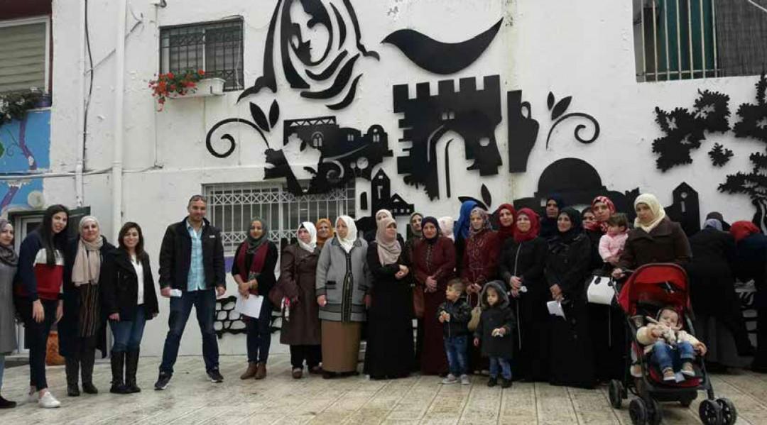 Burj AL-Luqluq Social Center Organizes and Open Day for Women