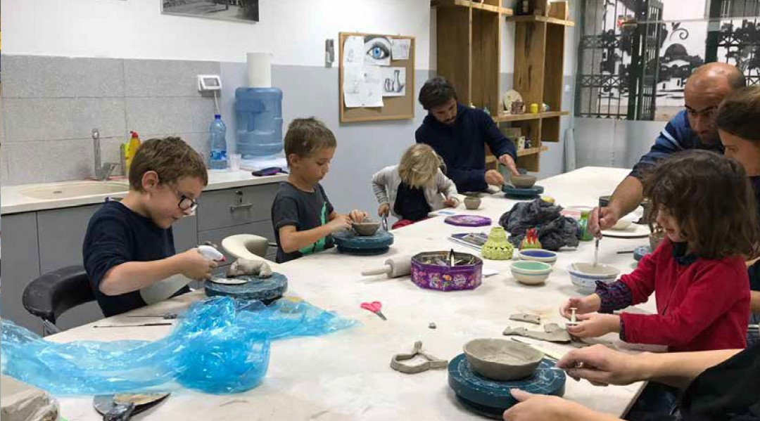 Ceramic Course for Families