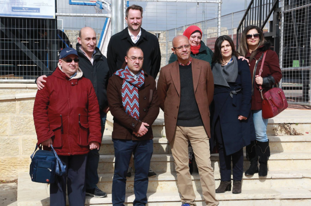 A UNDP Delegation Visits Burj Al-Luqluq