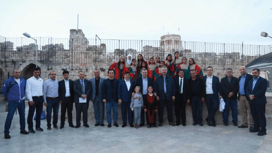 جمعية برج اللقلق تستقبل وزير الشباب والرياضة التركي عثمان اسكين باك