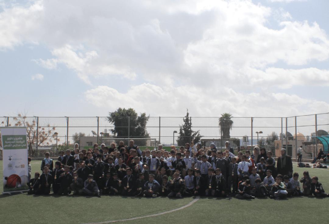 برج اللقلق ينظم مسابقات «تلي ماتش» لمدارس القدس