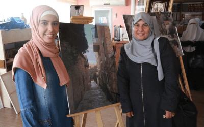 ضمن مشروع عيش البرج ٢ جمعية برج اللقلق تفتتح معرض «كما نراها» في منارة البرج للشباب