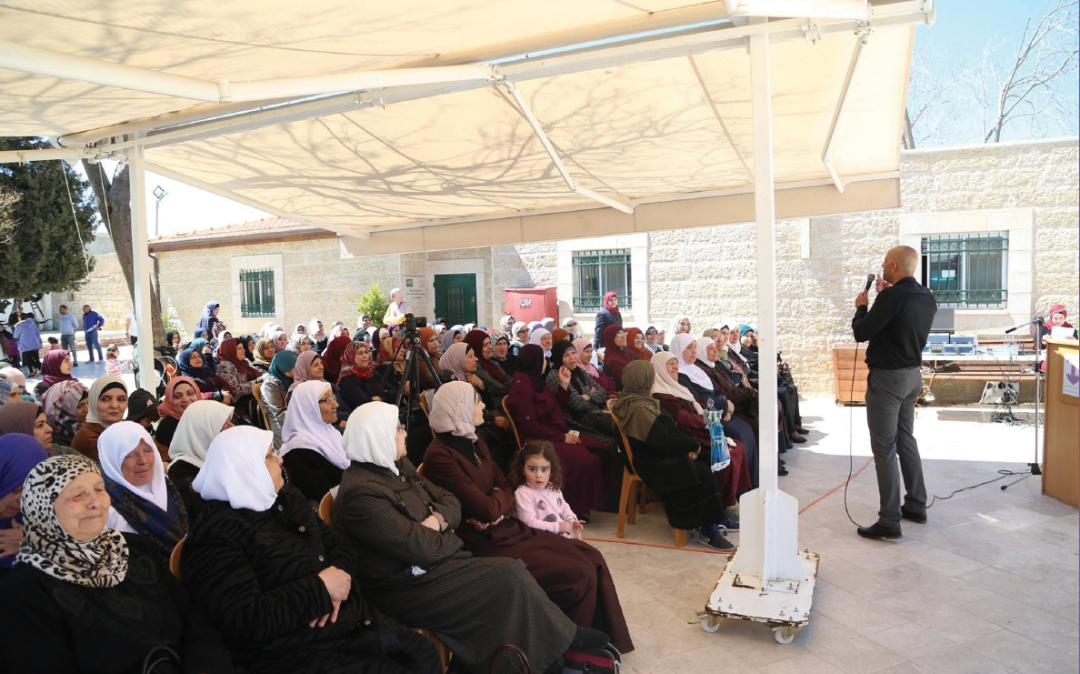 The Burj Al-Laqlaq Community Society carries out a community activity on the occasion of Mothers Day