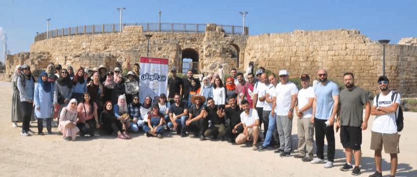 برج اللقلق ينظم جولة المرشد الشاب 4 إلى قيساريا الساحل وعكا قاهرة الغزاة