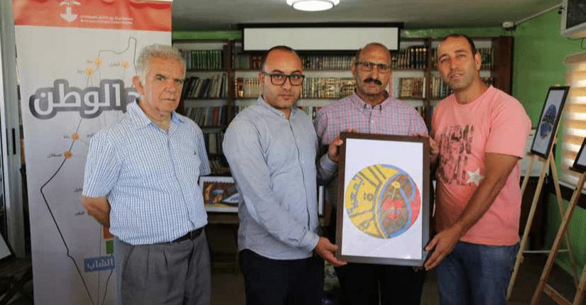 """جمعية برج اللقلق تستضيف """" معرض فن الزخرفة الإسلامي"""""""