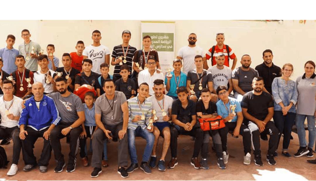 Burj Al-Luqluq Organized the Second Swimming Championship within Developing School Sports Project