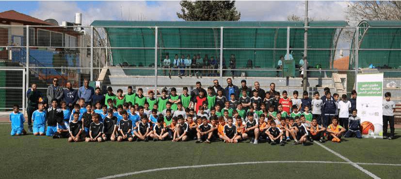 برج اللقلق  تنظم  بطولة كرة القدم  للمرحلة الاساسية