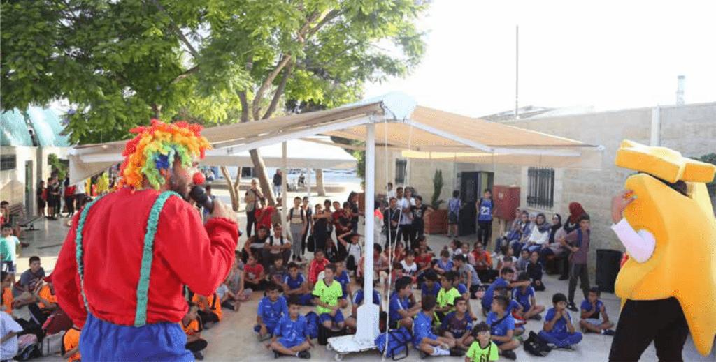 جمعية برج اللقلق تنظم اليوم  المفتوح الثاني  لأطفال مشروع العب وتعلم