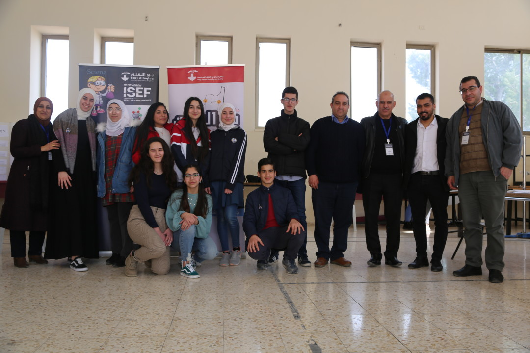 The conclusion of the local Palestine exhibition for science and technology