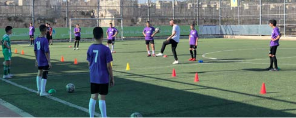 Taking into account the maintenance of public health Burj Alluqluq Social Center Society opens its doors and its sports and community facilities