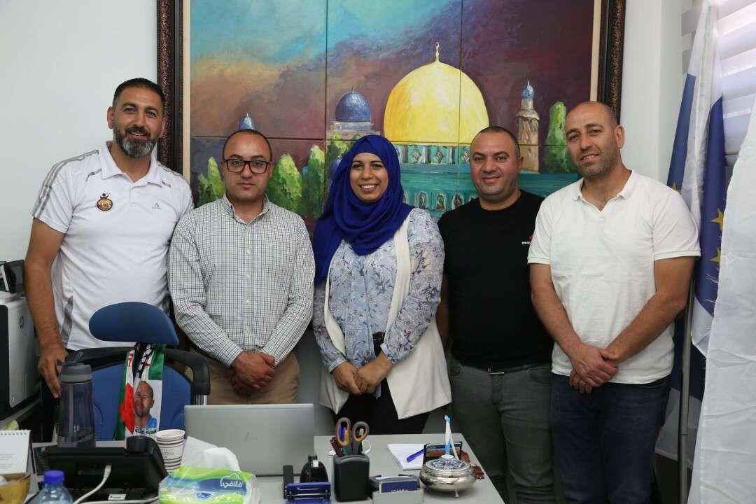 Burj Alluqluq Social Center Society signs an agreement with the Football Academy / Capital Club