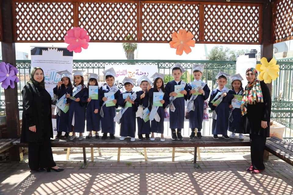 Burj Alluqluq Social Center Society Kindergarten celebrates the graduation of the twentieth regiment