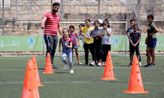 """""""Our summer camp in the shadow of corona"""" Safe and healthy space"""