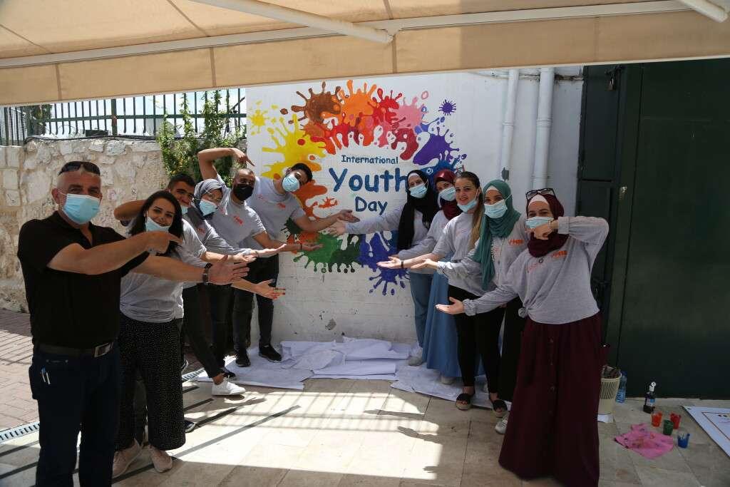 """مجموعة مميزة من الفعاليات الشبابية في """"يوم الشباب العالمي"""""""